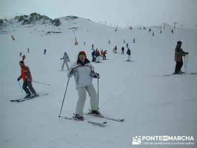 squí Baqueira - Aprende a esquiar; paseo por madrid; material de trekking